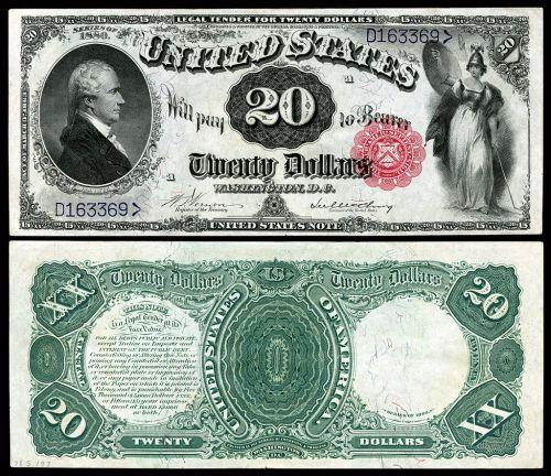 US-$20-LT-1880-Fr-145